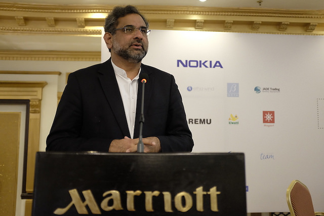 Mr. Shahid Khaqan Abbasi, Minister for Petroleum and Natural Resources was our Chief Guest at Business Summit in 2015.